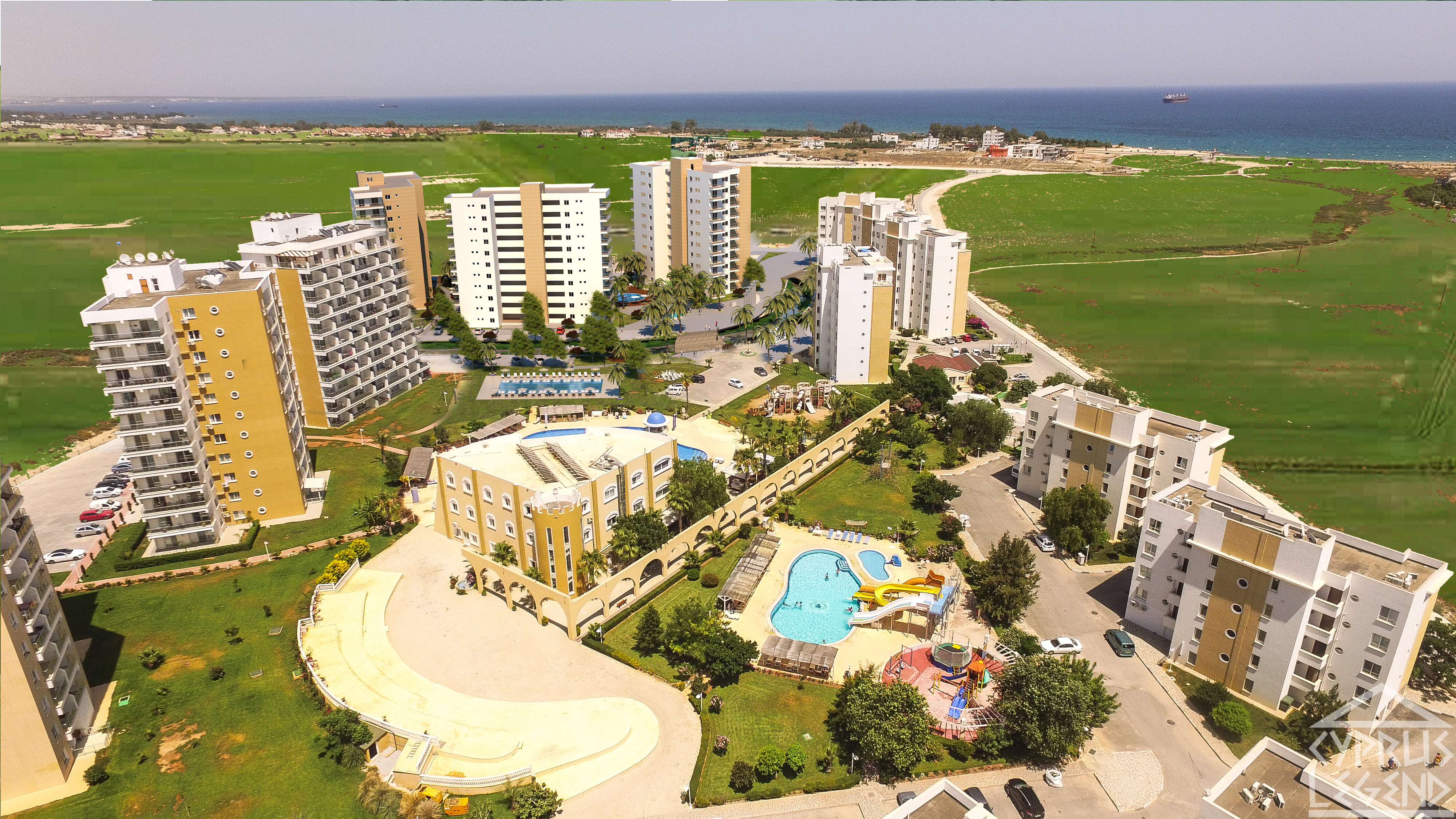 Трехкомнатные апартаменты в СПА — комплексе, рассрочка, кредит