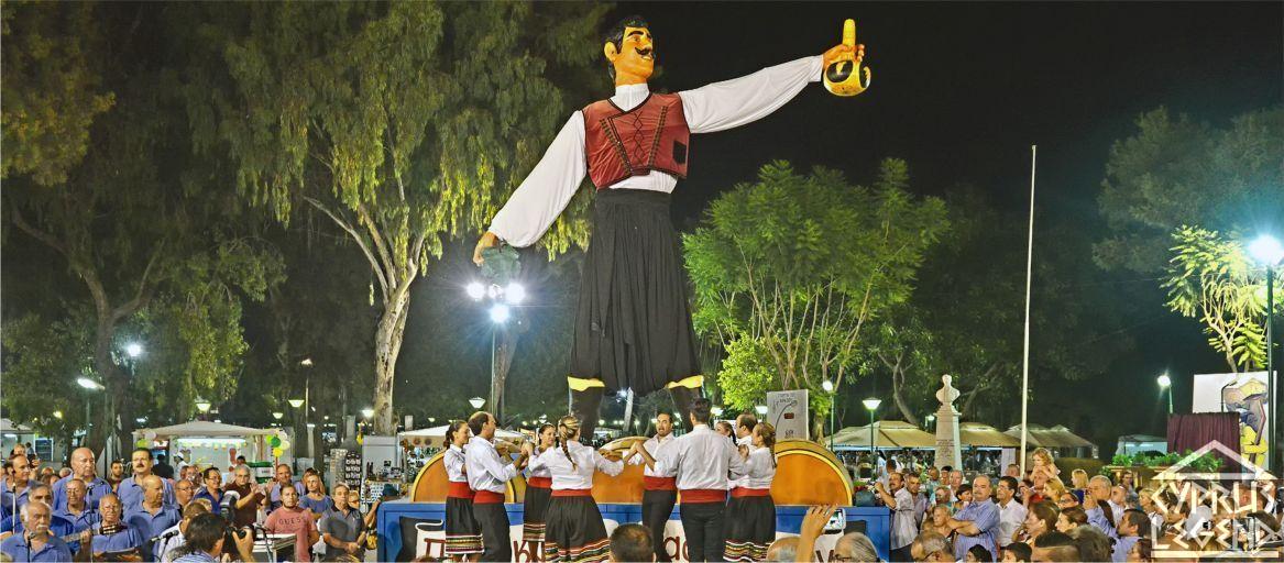 Туркокиприоты посетили винный фестиваль в Лимассоле