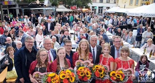 Мэр Кирении принял участие в фестивале вина в Германии