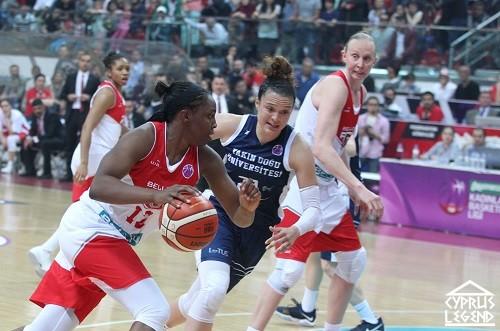 На Северном Кипре проходит женский баскетбольный турнир