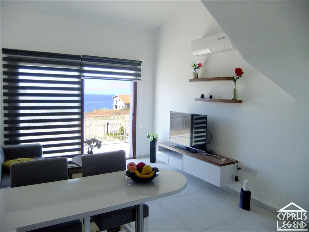 Двухкомнатные апартаменты в курортном комплексе на берегу моря
