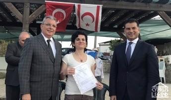 Молодым парам подарили участки земли в сельской местности Северного Кипра