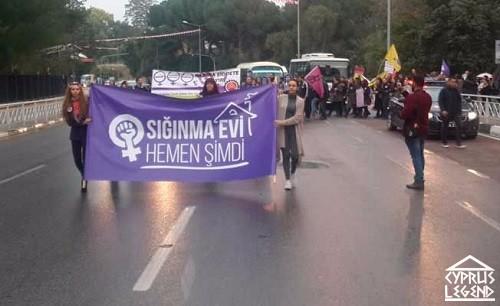 Международный день борьбы за ликвидацию насилия в отношении женщин прошел на Северном Кипре
