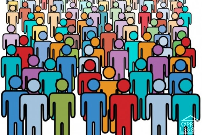 Население Северного Кипра составляет около 351 000 человек