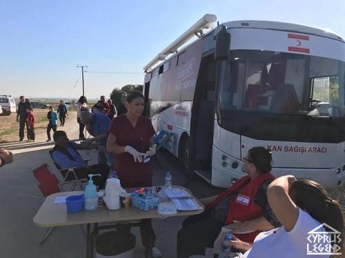 На Северном Кипре прошла кампания по донорству крови