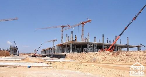 Строительство нового терминала аэропорта Эркан приостановлено