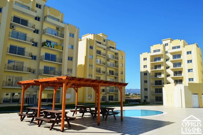 Двухкомнатные апартаменты в курортном комплексе