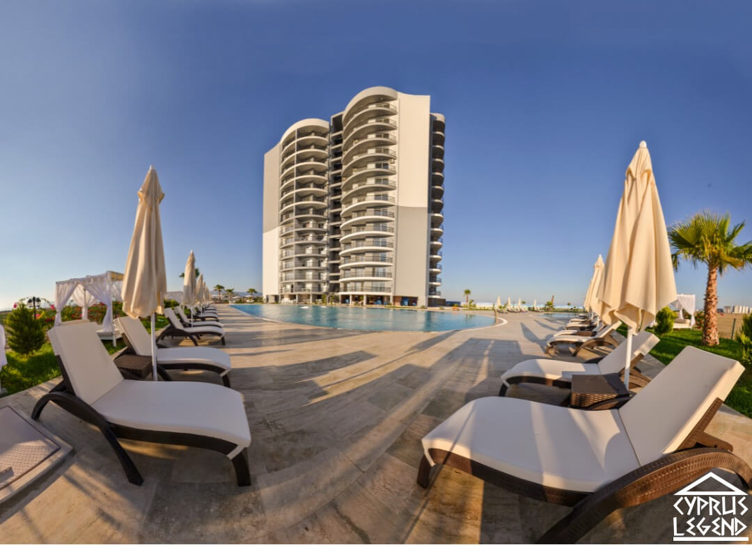 Смежная вилла в курортном комплексе в 300 метрах от моря