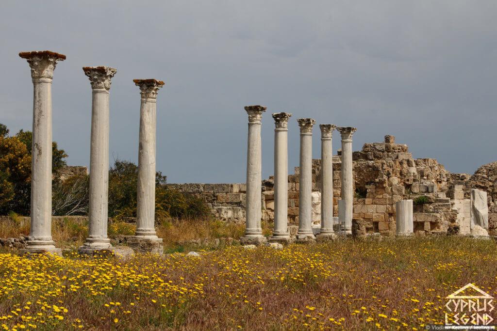 Античный Город Саламин (Саламис)