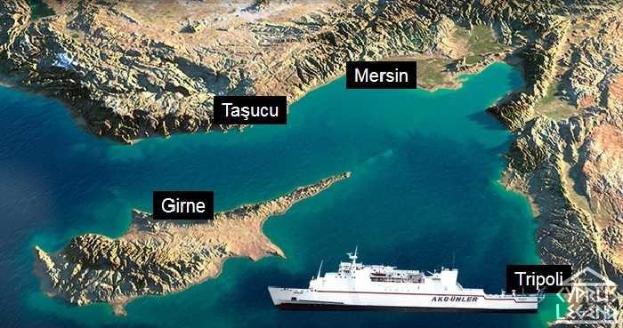 Паром Северный Кипр
