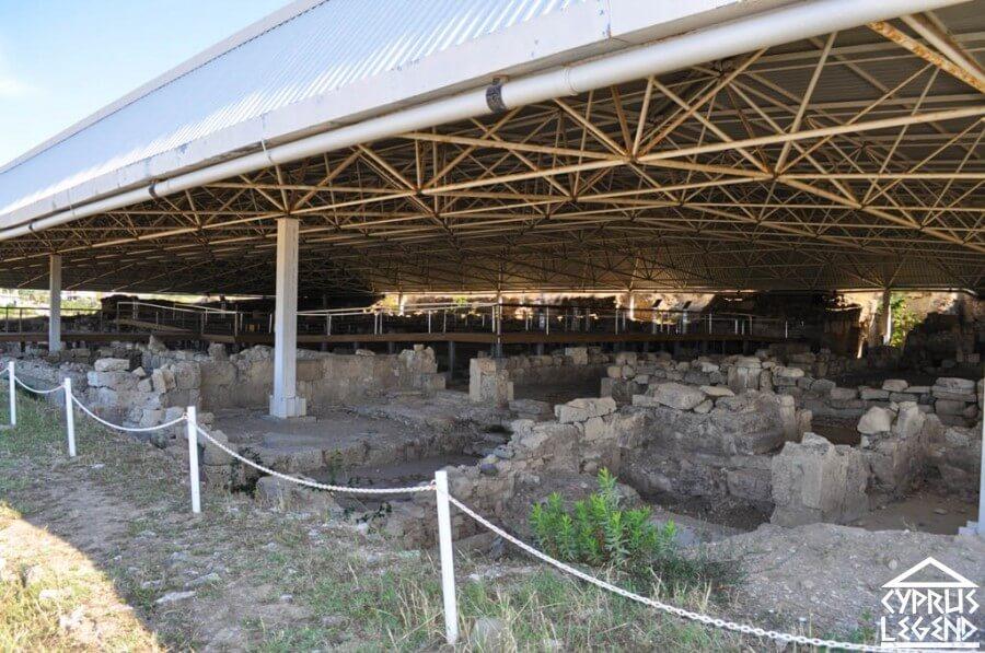 древний античный город Соли