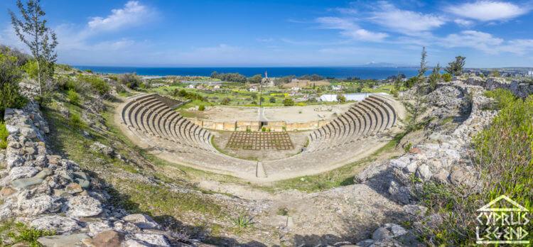 амфитеатр античного города Соли